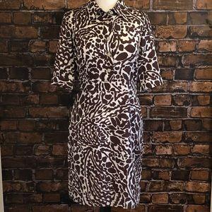 Milly New York Giraffe Silk Dress 4